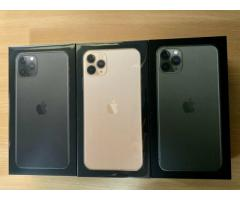 Apple iPhone 11 Pro Max 64 Go € 610 iPhone 11 Pro 64 Go € 580 iPhone 11 64 Go € 480